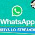 Dopo le videochiamate arriva lo streaming su Whatsapp