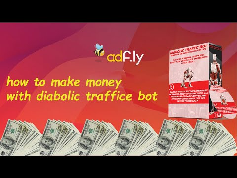 How i make 400$ a day with diabolic traffic bot . payment proof , really easy way