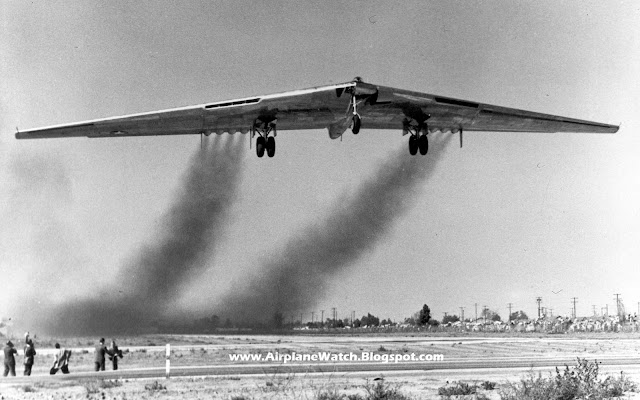 Northrop YB- 49 Flying Wing - First Flight - 1949