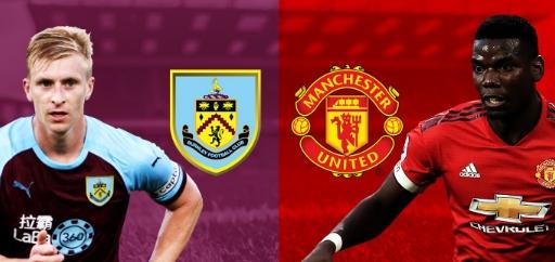 Manchester United vs Burnley di mola TV