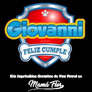 Logo de Paw Patrol: Giovanni