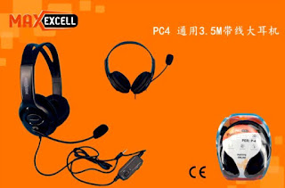 maxexcell cuffie gaming per ps4