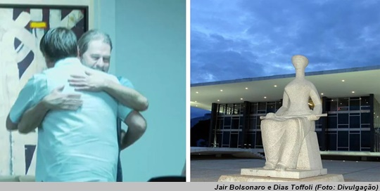 www.seuguara.com.br/Jair Bolsonaro/Dias Toffoli/STF/