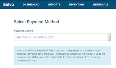 sulvo international wire transfer payment to nigeria