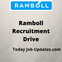 Ramboll Recruitment Drive