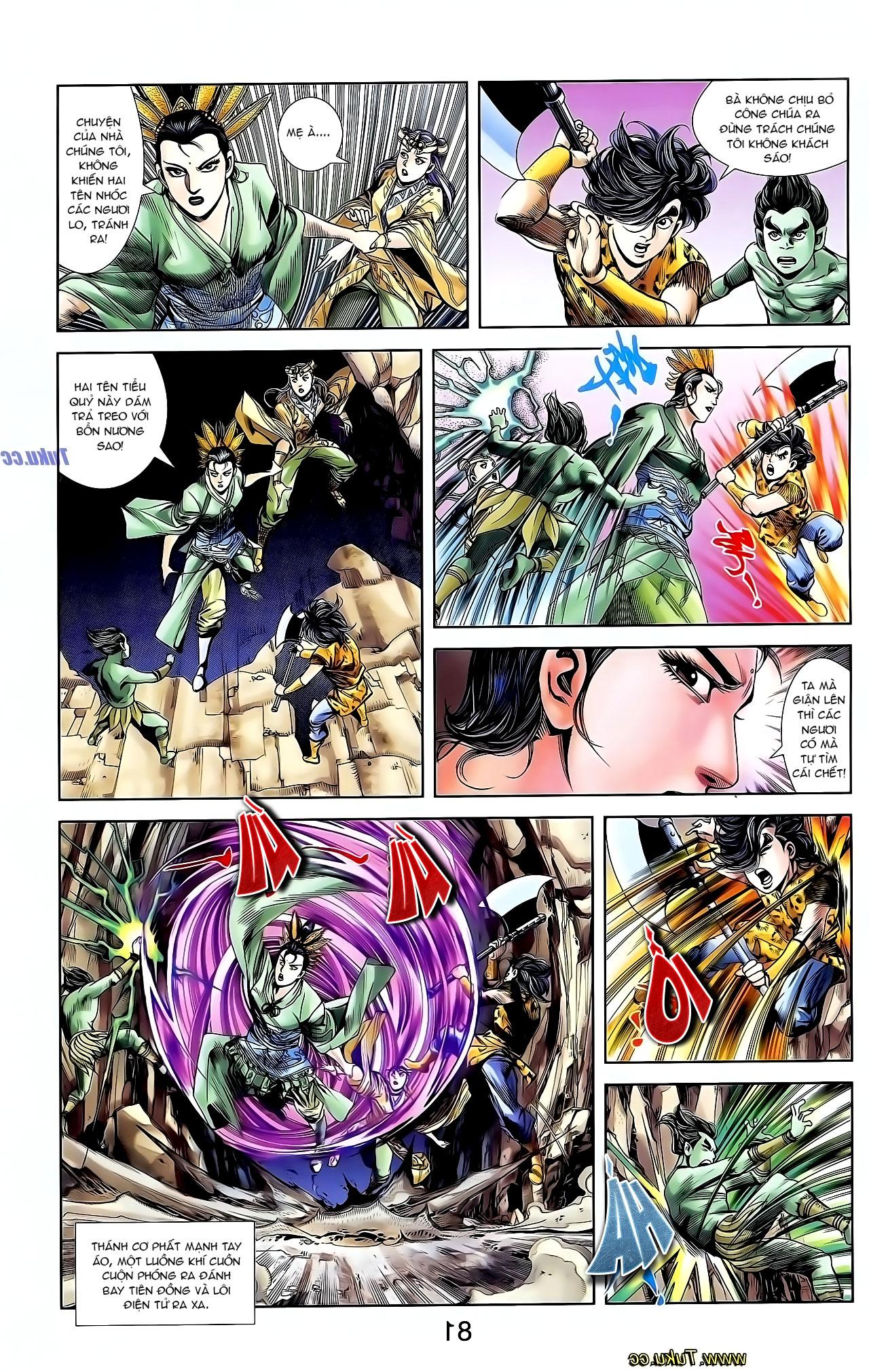 Cơ Phát Khai Chu Bản chapter 128 trang 12