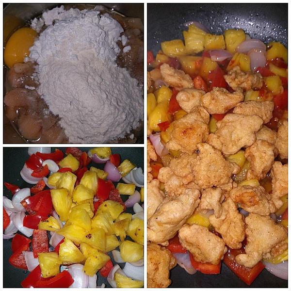 Steps to make Panda Express Sweet Fire Chicken