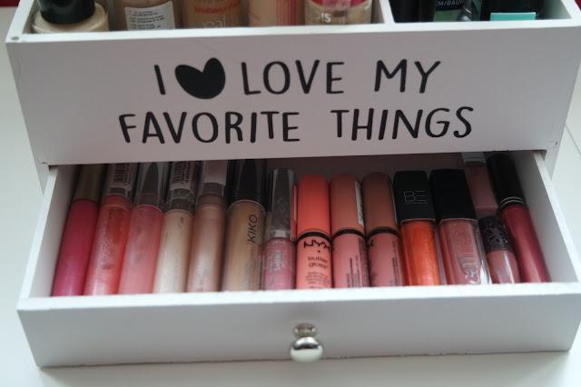 cheap makeup storage ideas