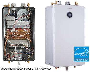 valves are not needed and a unique integrated sensor technology that making the switch to tankless water heating quick and easy