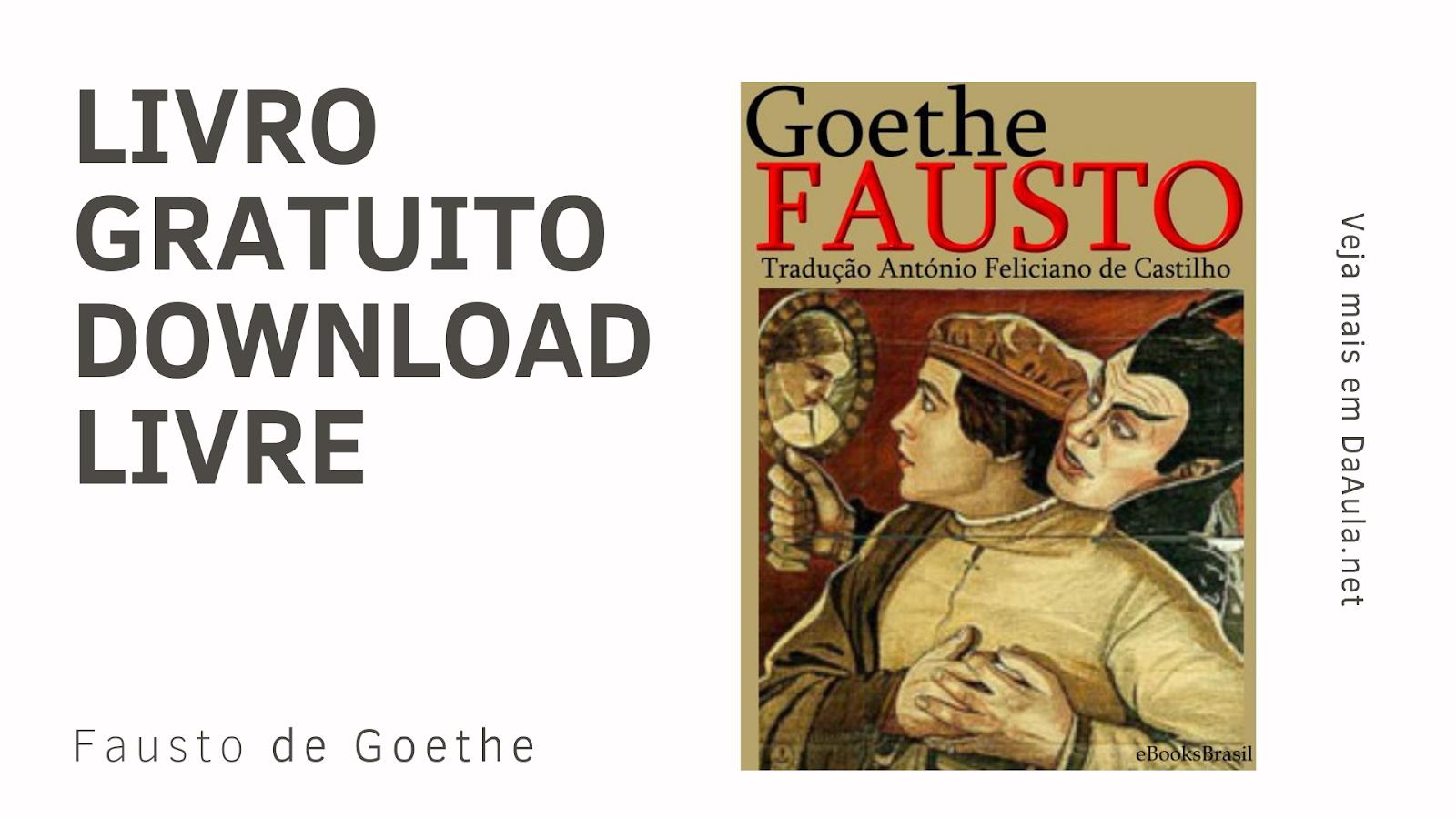 Livro: Fausto de Goethe
