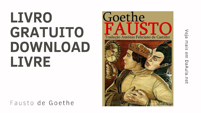 Baixe ou Leia o Livro Fausto de Johann Wolfgang von Goethe