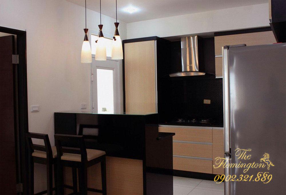 Cho thuê căn hộ cao cấp Flemington - phòng bếp