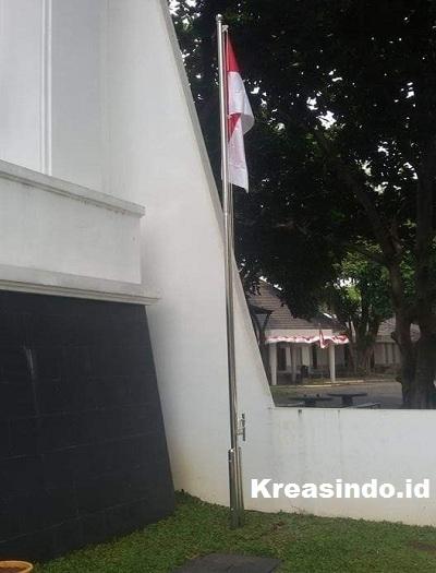 Tiang Bendera Stainless, Lebih Kuat dan Tahan Lama