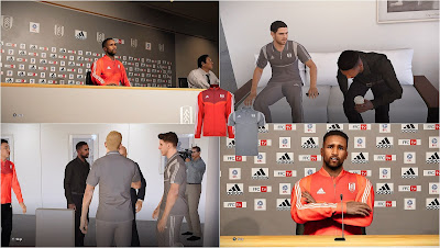 PES 2020 Fulham F.C. Polo Shirts & Track Suits by PESWilliam