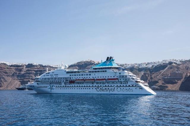 Κρουαζιέρες με το Celestyal Olympia από το Λαύριο σε Θεσσαλονίκη, Μύκονο, Σαντορίνη, Άγιο Νικόλαο, Ρόδο και Λεμεσό