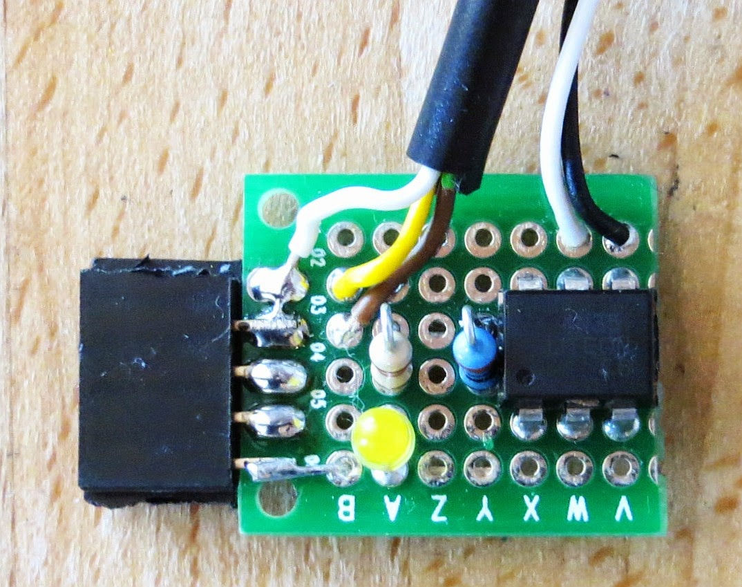 Tom's Projects: A MythTV Remote Control without LIRC - Power Switch