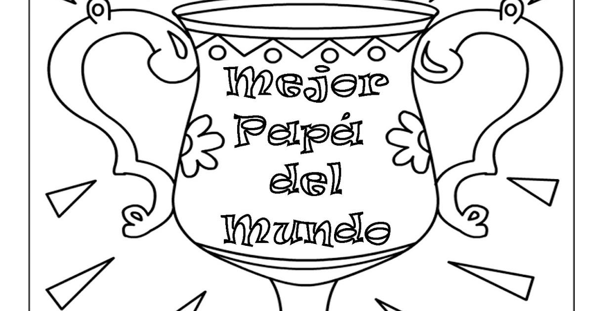 Dibujos Para Colorear Del Dia Del Padre De Disney: Pinto Dibujos: Dibujo Para Colorear Del Día Del Padre