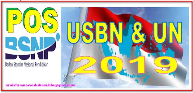 DOWNLOAD POS USBN DAN POS UN TAHUN 2019 - BSNP