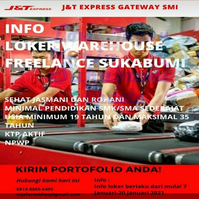 Lowongan Kerja Freelance J&T EXPRESS SUKABUMI