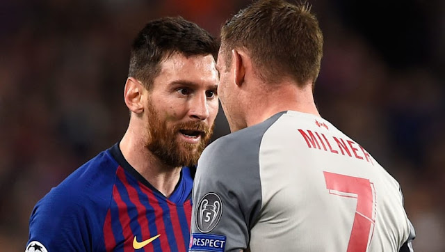 Milner raconte son altercation avec Messi en Ligue des Champions