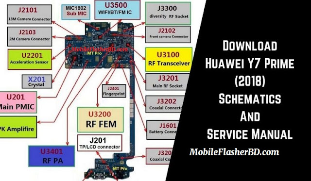 Download Huawei Y7 Prime (2018) Schematics And Service Manual Full PDF Pack For All
