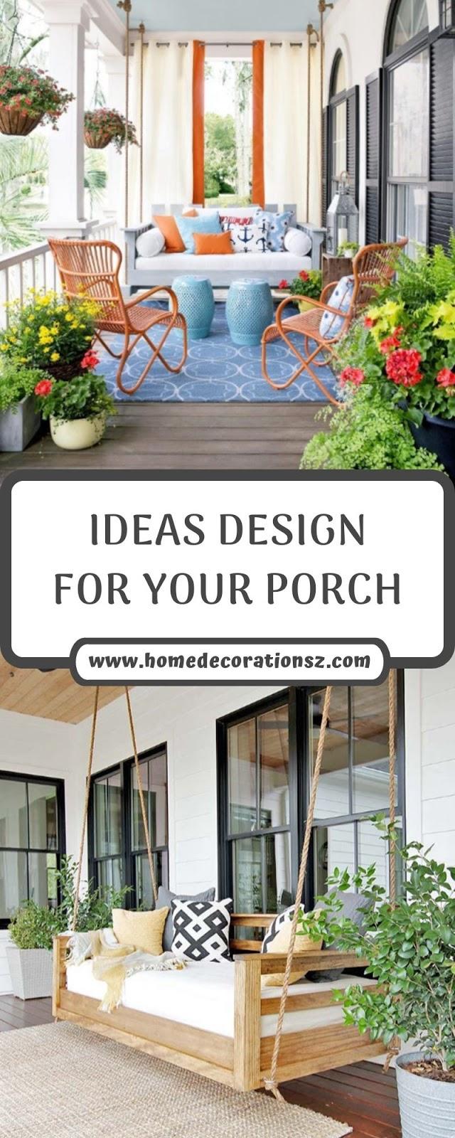 IDEAS DESIGN FOR YOUR PORCH