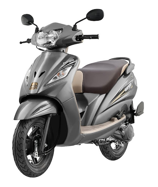 2017 TVS Wego BS4 Grey