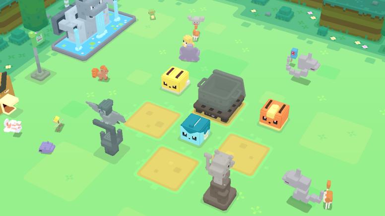 Base Camp - Pokémon Quest