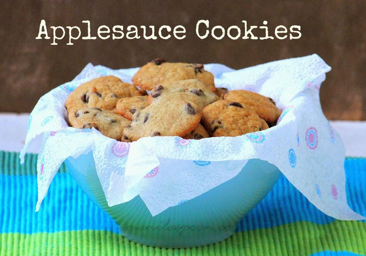 Chocolate Applesauce Cookies