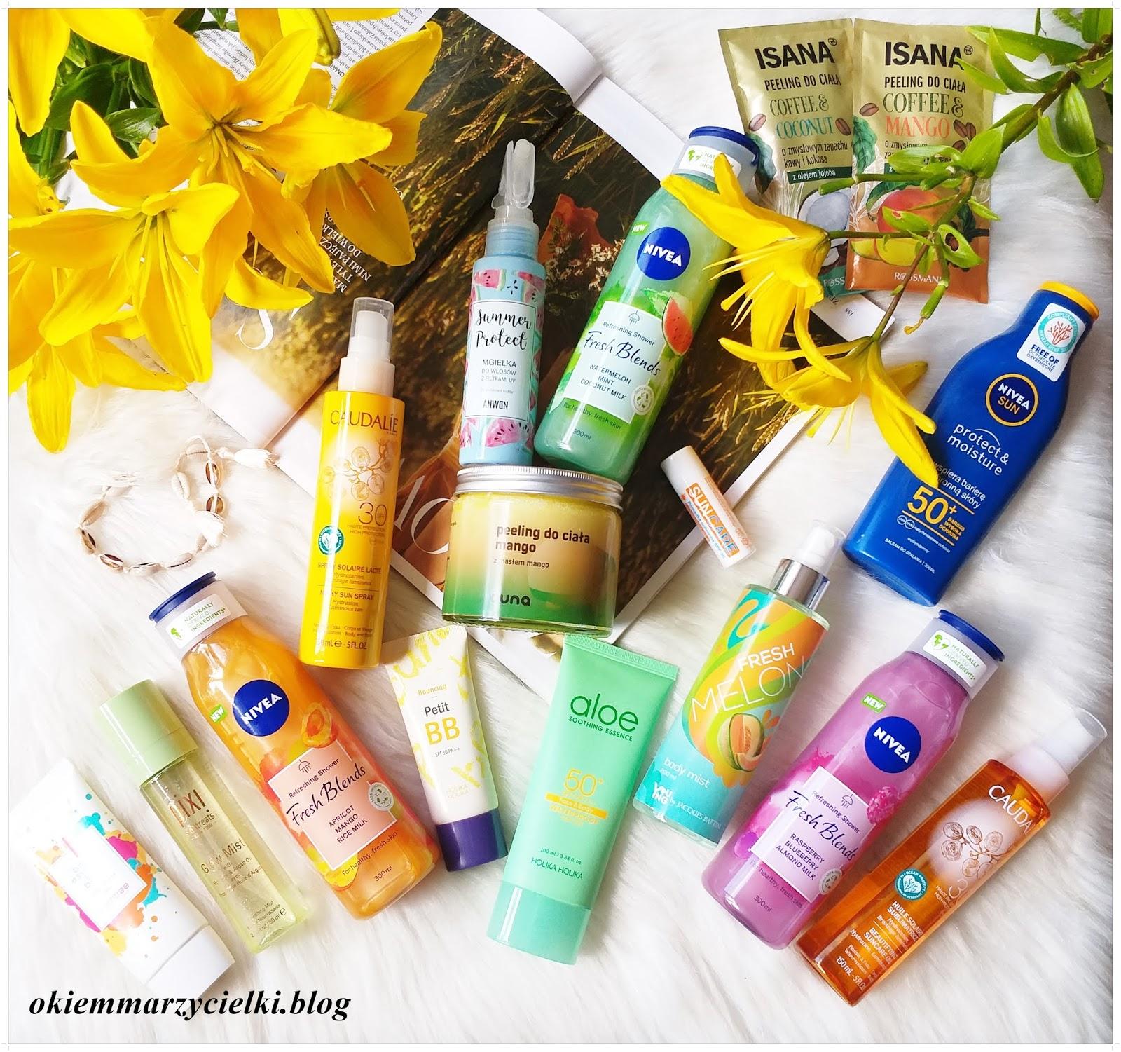 #Blogerkipolecaja: Kosmetyki bez, których nie wyobrażam sobie lata! Aktualizacja :)