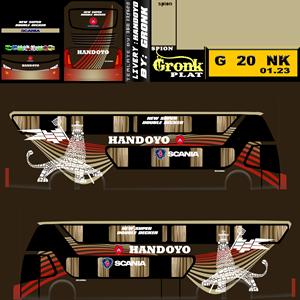 Livery Bussid SDD Handoyo