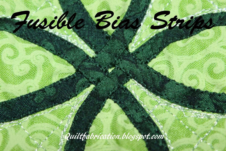 fusible bias strips celtic knots applique