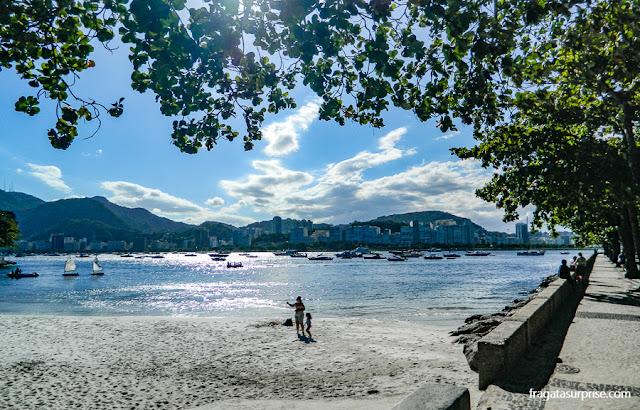 Praia do antigo Cassino da Urca, Rio de Janeiro