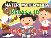 Materi Matematika Kelas 4 SD Kurikulum 2013 Semester 2 Lengkap