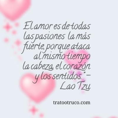 sobre el amor lao tze