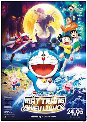 Xem Phim Nobita và Mặt Trăng Phiêu Lưu Ký