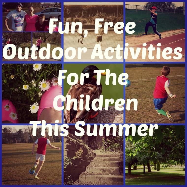 Fun Outdoor Activities For The Children This Summer…