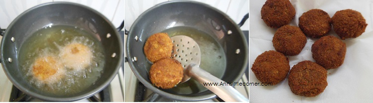 How to make Tapioca Cutlet- Step 8
