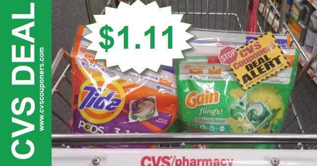 Gain & Tide Stock Up Sale at CVS