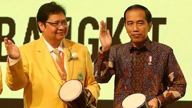 Golkar Akui Ingin Airlangga Jadi Capres di Pilpres 2024, Jokowi Cawapres?