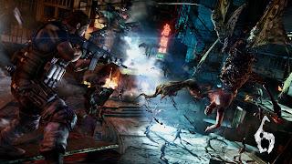 Resident Evil PS Vita Wallpaper