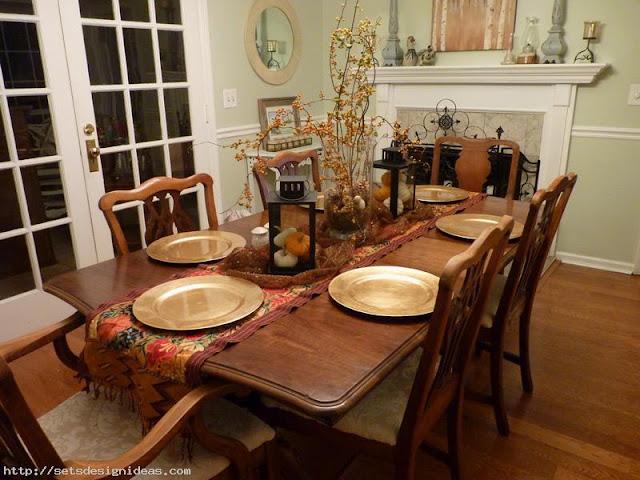Desain Ruang Makan Tradisional