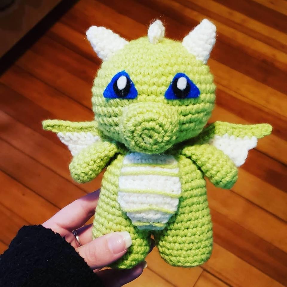 Spyro the Dragon Crochet Pattern / Year of the Dragon / Skylanders ...   960x960