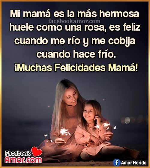 muchas felicidades mamá