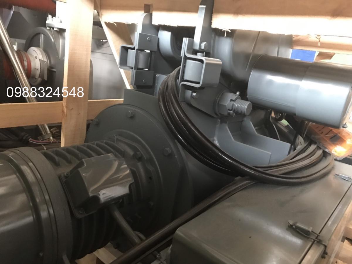 pa lăng điện cáp Hitachi 5 tấn