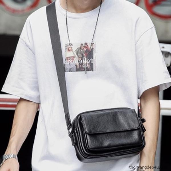 Túi đeo chéo thời trang nam sang trọng đẳng cấp DNM016