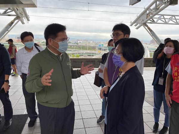台中捷運綠線延伸彰化市 王惠美籲行政院儘速核定
