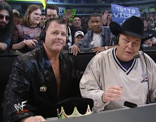 WWE / WWF Royal Rumble 2001 - Jerry 'The King' Lawler and Jim Ross called the event