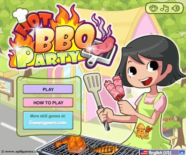 العاب طبخ للاطفال | لعبة BBO Party