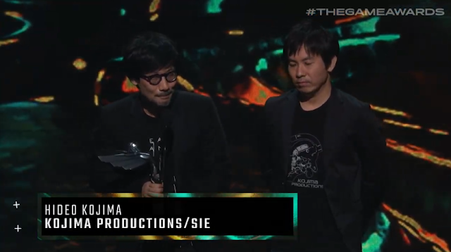 The Game Awards 2019 Hideo Kojima Death Stranding best game direction director
